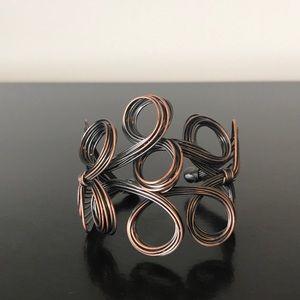 Jewelry - Bronze Artisan Cuff Bracelet